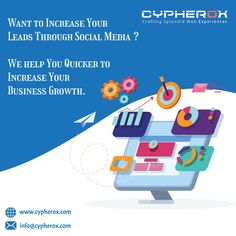 Looking for the best Digital Marketing Company? Cypherox Technologies Team, being the finest amongst all offers online marketing and branding services like SEO, SMM, PPC. Top Digital Marketing Companies, Social Media Marketing Agency, Digital Marketing Strategy, Online Marketing, Branding Services, Seo Services, Web Development Company, Design Development, Successful Social Media Campaigns