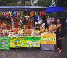 Chicharrones Vendor @ Ciudad de México, México