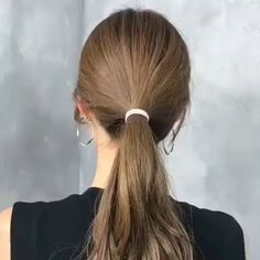 Quick and Easy -> Long Hair Tutorials! Do you wanna learn how to styling your own hair? Well, just visit our web site to seeing more amazing video tutorials! Easy Hairstyles For Long Hair, Braids For Short Hair, Pretty Hairstyles, Girl Hairstyles, Hairstyle Ideas, Easy Ponytail Hairstyles, Fashion Hairstyles, Hair Upstyles, Hair Arrange