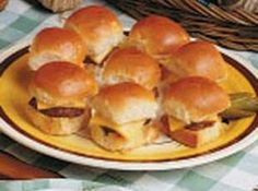 Mini Hamburgers Recipe