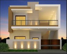 Best Value House In Toor Enclave Jalandhar in Jalandhar, Punjab, India in Houses - Apartments for Sale category under budget INR ₹ 2 Storey House Design, Bungalow House Design, House Front Design, Small House Design, Modern Exterior House Designs, Modern House Plans, Modern House Design, Indian House Exterior Design, Front Elevation Designs