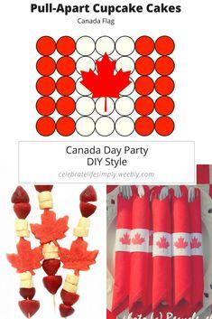 Canada Day DIY Party - DIY Style - July 1