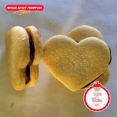 Αφράτα μπισκότα γεμιστά με σοκολάτα Biscuits, Cookies, Cooking Time, Pastries, Baking, Desserts, Food, Kitchens, Crack Crackers