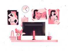 """Check out this @Behance project: """"Girls"""" https://www.behance.net/gallery/47773539/Girls"""