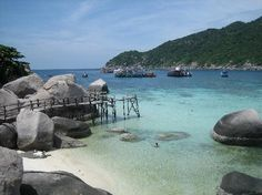 Koh Tao thailand , amazing island to visit and not just for diving , Rock climbing is growing quickly on Koh tao .