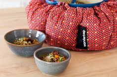 A Wonderbag is much like a slow cooker, except for the fact that it has no extension chord. Try our four easy recipes made using a Wonderbag or slow cooker.