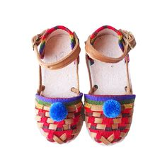 Pom Baby Sandals in Caimito #kids #accessories #shoes #girls