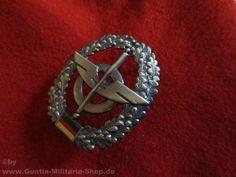 BW Barettabzeichen, Nachschub, Metall / mehr Infos auf: www.Guntia-Militaria-Shop.de
