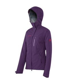 #Mammut #Makai Jacket is a Robust alpine Hard Shell jacket made from elastic DRYtech™ material. The functional hood, backpack-compatible pocket position and useful little details make it a good companion for various activities.