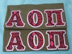 One of our on sale packs, available now. Click through to see how many are available (usually one) and for more information on the items included. It's practically a steal! Alpha Omicron Pi, Custom Greek Apparel, Sorority Crafts, Sorority Outfits, Greek Clothing, Bid Day, Greek Outfits