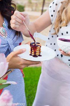 Childrens Easter Menu- Mini Pancakes