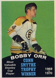 O-Pee-Chee Bobby Orr Conn Smythe Trophy Winner - Most Valuable Stanley Cup Player Stars Hockey, Ice Hockey, Hockey Boards, Hockey Hall Of Fame, Hockey Pictures, Bobby Orr, Boston Bruins Hockey, Hockey World, Cards