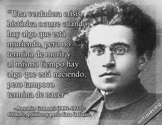 Antonio Gramsci, filósofo, político y periodista italiano