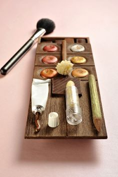 edible makeup palette Gourmande as elegant as tempting, is it really possible to eat?