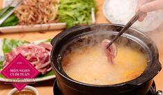 Cách nấu món Lẩu Bắp Bò Nhúng Mẻ chiêu đãi cả nhà