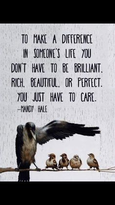Love Quotes : To makes a difference in someones life you dont have to be brilliant rich beauti. - About Quotes : Thoughts for the Day & Inspirational Words of Wisdom The Words, Cool Words, Great Quotes, Me Quotes, Motivational Quotes, Inspirational Quotes, Wisdom Quotes, Rich Quotes, People Quotes
