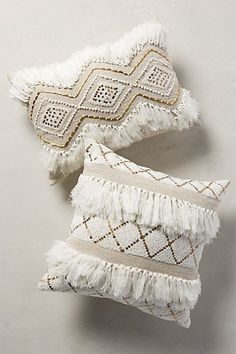 Anthropologie EU Zula Textured Pillow