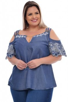 Ciganinha Plus Size Lais