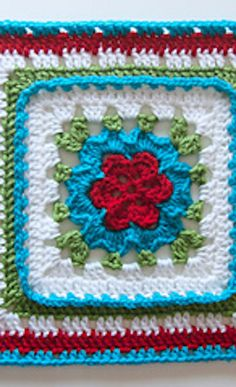 CAL Granny Square crochet pattern!