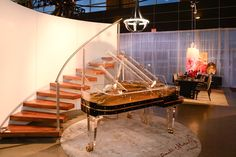 Grand pianos - even acrylic ones are beauties