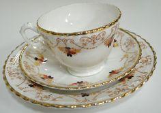 Royal Albert (T C Wild) 3760? Trio, Cup Saucer &; Plate (#28) circa 1917 Estate
