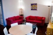 Furnished three-bedroom rental flat in the 15th Paris district