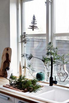 DIY: Juletræer på snor | Boligliv