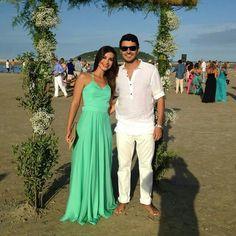Look casamento na praia