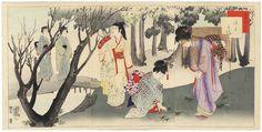 Fuji Arts Overstock Triptych - Unbelievable Bargain! by Shuntei