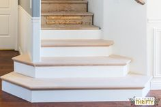 Superieur New Wooden Stair Treads Reveal! NuStair DIY Retread! | DIY Staircase  Remodel | Stair