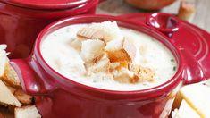 10 skvelých polievok z denného menu Modern Food, Chocolate Fondue, Mashed Potatoes, Menu, Soup, Pudding, Vegetarian, Bread, Cheese