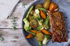 Salmon at 100° C. Incredible recipe!