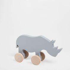 HOUTEN SPEELGOEDNEUSHOORN - Speelgoed en Knuffelbeesten - Decoratie | Zara Home België