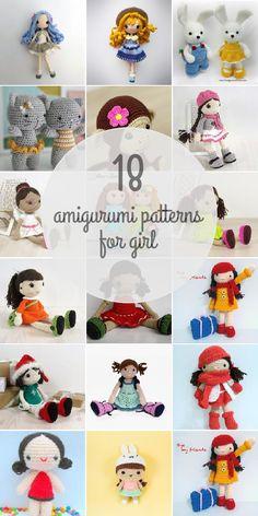 Amigurumi Patterns For Girl Owl Crochet Pattern Free, Doll Amigurumi Free Pattern, Crochet Owls, Amigurumi Doll, Crochet Animals, Knit Crochet, Patron Crochet, Crochet Round, Crochet For Beginners