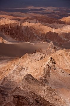 Atacama Desert in Chile, the driest desert. Otherworldly and the best stars to see in the world.