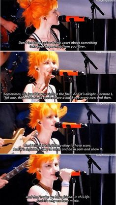 Advice from Hayley of Paramore
