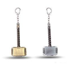 J 스토어 어벤져 토르 망치 키 영화 보석 Mjolnir 모델 아연 합금 열쇠 고리 키 체인 링 팬 chaveiro