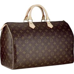 Louis Vuitton Speedy 40 Monogram Canvas M41522