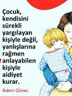 – Aile ve Çocuk School Counseling, Family Activities, Personal Development, Psychology, Parents, Inspirational Quotes, Education, Words, Children