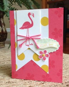Flamingo Catalog CASE by curlycoconut - Cards and Paper Crafts at Splitcoaststampers