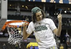 Cutting down the net...