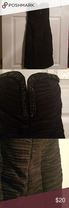 Little black dress Little black dress by Daisy size small Daisy Fuentes Dresses Strapless