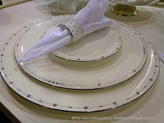 Prouna's Princess Fine Bone China with Platinum Trim and Swarovski Crystals