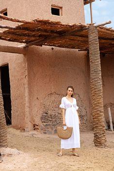 Shoulder Dress, White Dress, Dresses, Fashion, Woman, Vestidos, Moda, White Dress Outfit, Fasion