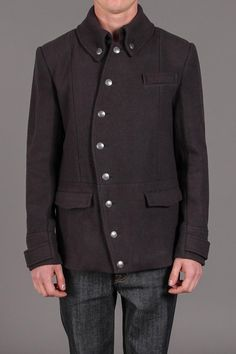 Classic Orchestra Jacket in Charcoal / i.am