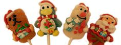 Christmas Jelly Lollies Christmas Jelly Lollies - We love these guys! Four beautifully hand-decorated jelly lollipops in the shape of a Father Christmas, a Penguin, a Snowman and a Cat (or is it a bear?). The prefect stockin http://www.MightGet.com/january-2017-12/christmas-jelly-lollies.asp