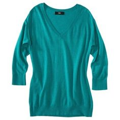 Mossimo® Women's Ultra Soft V-neck Pullover Sweater - Assorted Colors