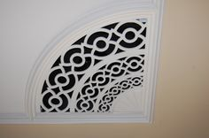 Vent in the ceiling at Innerwood.  Love this?  They can make yours