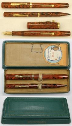 waterman pen/pencil set  1925