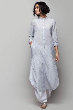 10 Most Stylish Kurtas For Women To Shop Online kurtas indianwear womenwear 669417932090158661 Pakistani Fashion Casual, Indian Fashion Dresses, Pakistani Dress Design, Indian Designer Outfits, Fashion Outfits, Pakistani Kurta Designs, Fashion Pants, Silk Kurti Designs, Kurta Designs Women